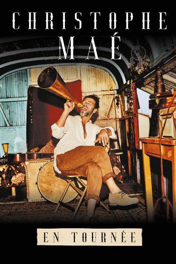 Affiche Christophe Mae concert tournée Zénith de Dijon