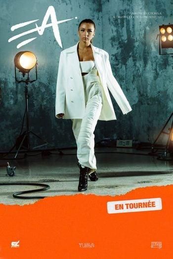Eva queen affiche concert tournée zénith de dijon