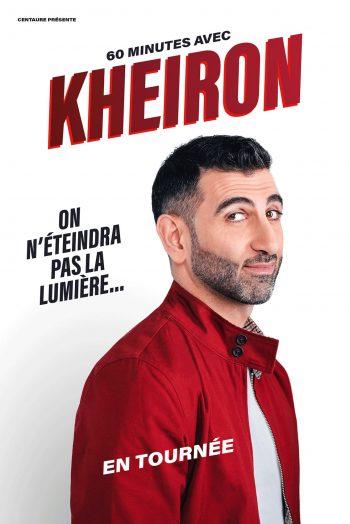 Kheiron spectalce one man show humour zénith de dijon