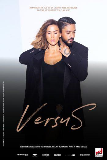 Affiche Vitaa & Slimane concert tournée versus tour Zénith de Dijon