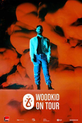 Affiche Woodkid concert zénith de dijon