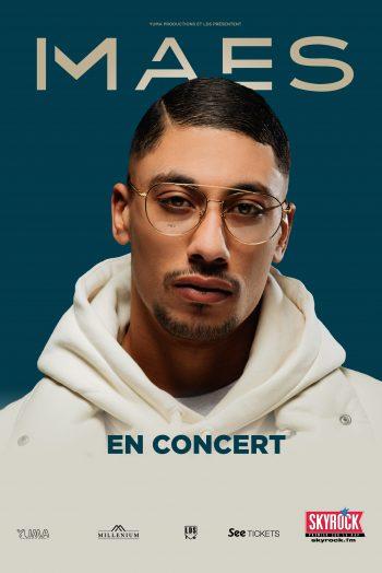 Affiche Maes concert tournée zénith de dijon