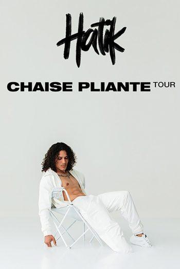hatik chaise pliante tour tournée concert zénith de dijon