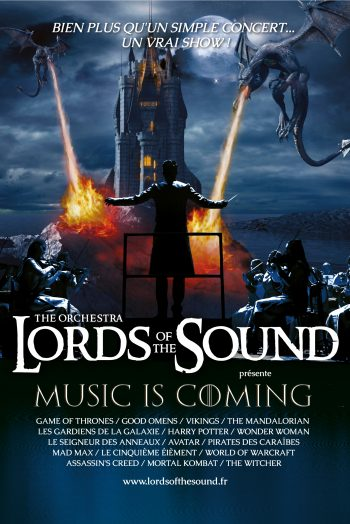 Lords of the sounds affiche spectacle