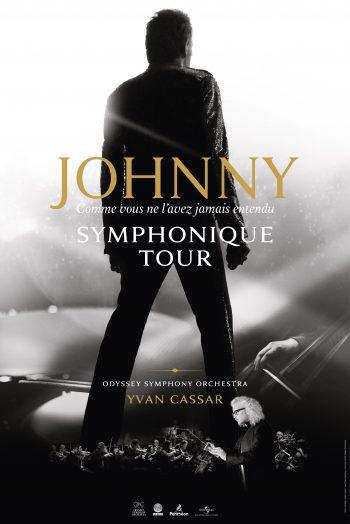 affiche johnny simphonique tour